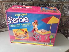 1987# MATTEL BARBIE ICE CREAM CART 5163 NRFB very rare NIB