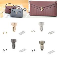 Metal Clasp Turn Lock Twist Lock for DIY Bag Handbag Purse Hardware Durable New