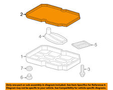 MERCEDES OEM 98-06 E320 Automatic Transmission-Pan Gasket 1402710080