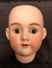 Large Antique German Bisque Doll Head Simon & Halbig Handwerck Size 7