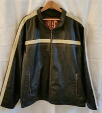 Machine VTG Motorcycle Field/Riding Jacket Faux Leather size Medium