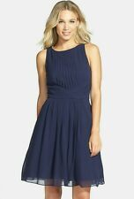 Ted Baker London Saphira Tiered Pleat A-Line Dress Size 1(US 4) Retail $348