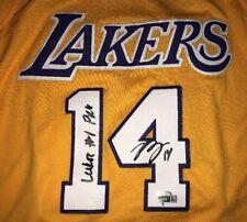 BRANDON INGRAM Rookie Autograph Lakers #1 Pick Insc Signed Jersey Fanatics COA