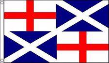 England and Scotland Friendship 5'x3' Flag