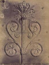 Saint Gilles Détail de la Porte Nîmes France Vintage ca 1880