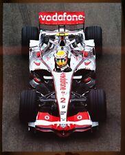Formula 1 - LEWIS HAMILTON  in McLaren MP4-22 - 8x10 fujifilm paper - 2007