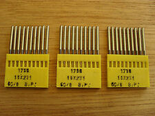 NEEDLES FOR INDUSTRIAL STRAIGHT SEWERS SIZE 060/8 BALL POINT THIN SHANK X 30