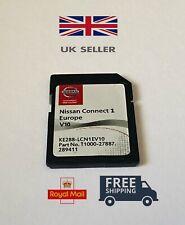 2020-2021! NISSAN CONNECT 1 V10 MAPS SAT NAV SD CARD QASHQAI NOTE JUKE