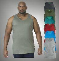 Mens Duke D555 King Size Big Tall Sleeveless Sport Gym Vest Top Teal Size 6XL