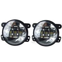 4'' Phare Fog Lights Feux LED feux de brouillard Pour Jeep Wrangler JK Dodge