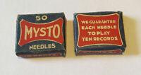 MYSTO Needles Two Boxes Loud & Medium - Phonograph Needles Victor Victrola