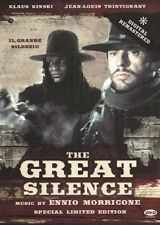 THE GREAT SILENCE (1968 Klaus Kinski) -  DVD - PAL Region 2 sealed