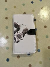 Cow Design iPhone 5, 5s, Se Wallet Case