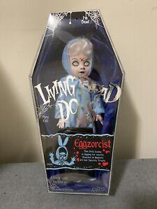 LIving Dead Dolls Eggzorcist Mezco Blue Comic Con ExclusiveSIGNED BY ED & Damien