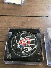 Braden Holtby Washington Capitals Signed Official Game 40th Anniversary puck