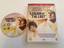 LEGEND OF THE LOST - JOHN WAYNE -  CLASSIC WESTERN - UK RELEASE - MINT CONDITION