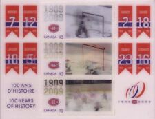 Hockey Canadian Mint Stamps