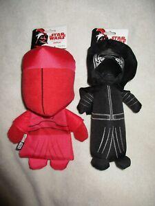 """Petco Star Wars Praetorian Guard Kylo Ren 9""""  Dog Toy Lot"""