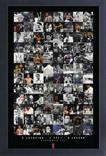 MUHAMMAD ALI MONTAGE 13x19 FRAMED GELCOAT POSTER GREATEST BOXING CHAMPION WORLD!