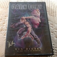The Chronicles Of Riddick Dark Fury Dvd Animation Dvd Vin Diesel As The Voice