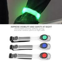 Safety Cycling Flashing LED Light Arm Armband Strap Belt For Night Running SA