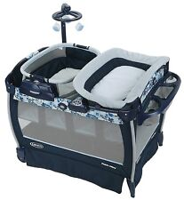 Graco Baby Pack 'n Play Nearby Napper Crib Bassinet Playard Sleep Cot Tessa New
