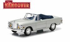 """GREENLIGHT 1/43 1969 MERCEDES-BENZ 280 SE SILVER OPEN CONVERTABLE """"THE HANGOVER"""""""