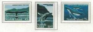 Norfolk Island, Scott 573 - 575 in MNH Condition