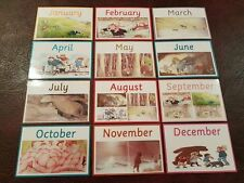 We're going on a bear hunt - Themed -MONTHS OF THE YEAR - FLASH CARDS