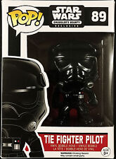 Funko Pop! STAR WARS Smuggler's Bounty Exclusive TIE FIGHTER PILOT 89 New BNIB