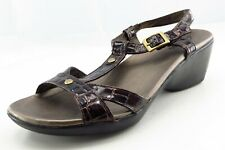 Clarks Size 7 M Brown Gladiator Synthetic Women Sandal Shoes