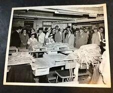 Vintage ICONIC Photograph Gorton's Seafood Gloucester MA Historic Fish - L26M