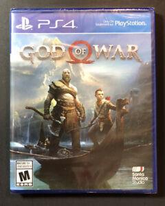 God of War [ First Print Blue Case ] (PS4) NEW