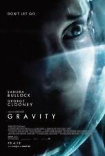 GRAVITY MOVIE POSTER 2 Sided ORIGINAL FINAL 27x40 GEORGE CLOONEY SANDRA BULLOCK
