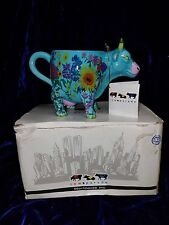 NEW DECORATIVE COW PARADE FRUITS OF SUMMER MUG BY WESTLAND GIFTWARE