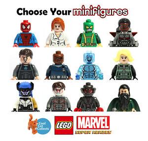 Genuine Lego Marvel Superheroes Used Minifigures | Pick From List