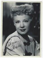 Betty Hutton Actress Movie Promotional Photograph, Arcade Card Lot of Two