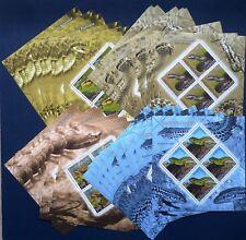10 x Rumänien 2011 Mi.Nr. Block 485-488** MNH Schlangen Snakes. Mi. 500,-- €