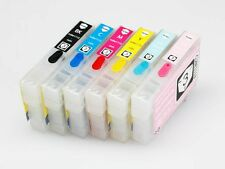 REFILLABLE 82N INK CARTRIDGES FOR EPSON ARTISAN 635 725 730 835 837 PHOTO 1410