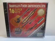 NASHVILLE'S FINEST INSTRUMENTALISTS ~ 16 SUPER HITS ~ 2001 KING ~ NEW SEALED CD