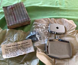 Vintage NOS Chrome Lawson Oxford S Type Soap Holder 705 Mid Century Modern USA
