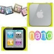 Funda carcasa de silicona amarillo iPod Nano 6 6G