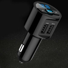 Bluetooth Car FM Transmitter Wireless Radio Adapter MP3 Player USB charger W87