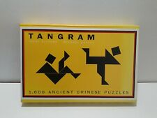 TANGRAM 1,600 Ancient Chinese Puzzles - Pieces & Instruction Book