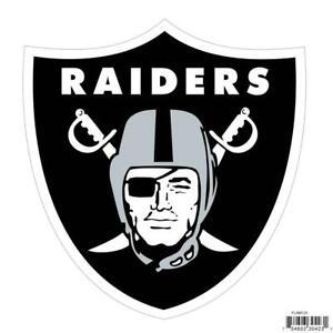 Las Vegas Raiders Licensed Outdoor Rated Logo Magnet (NFL Football)