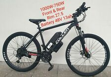 NEW EBIKE 1000W-750W with PEDAL ASSIST 27.5 Rim ( Free Phone Holder & Lock )