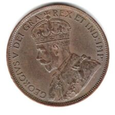 (Pgasteelers1)  Canada 1914 Large Cent  King George V KM#21 XF+