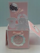 Beautiful Handmade Birth Girl Pop Up Card...