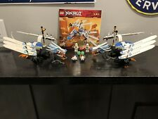 Lot Of 2 LEGO 2260 Ninjago Ice Dragon Attack W/ Instructions Complete