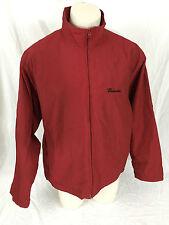 Budweiser Red Jacket Anheuser Busch Weatherproof Brand Men's Large